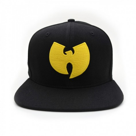 Wu Wear Snapback Cap - black