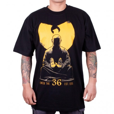 Wu Wear Wu Monk Tee - black