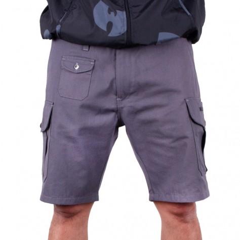 Wu Wear Wu Cargo Shorts - grey