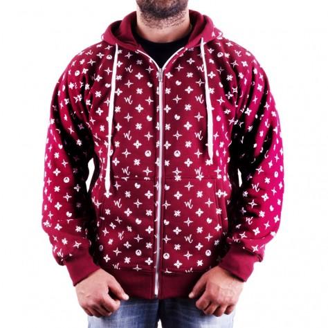 Wu Wear Wuitton Zipper - red