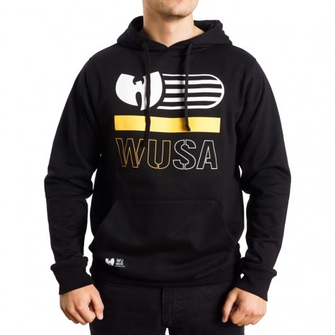 Wu Wear WUSA hoodie - black