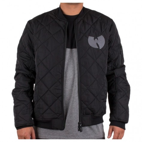 Wu Wear WU QUILTED - black