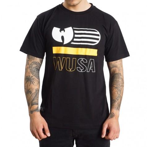 Wu Wear WUSA T-shirt - black