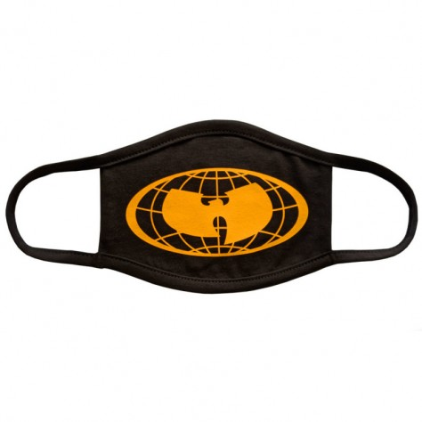 Facemask Wu Wear Globe - black