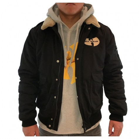 Wu Wear Winter Jacket - black