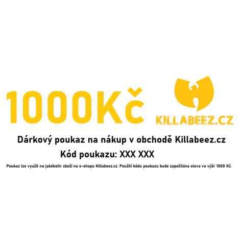 Dárkový poukaz 1000 Kč -...