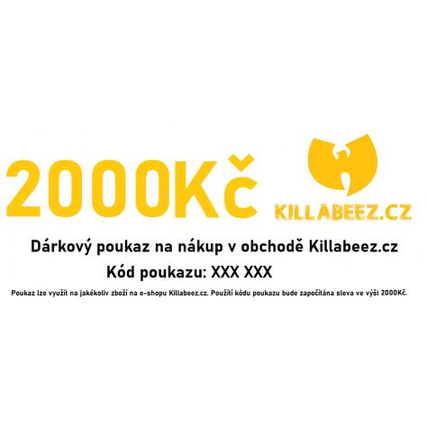 Dárkový poukaz 2000 Kč -...