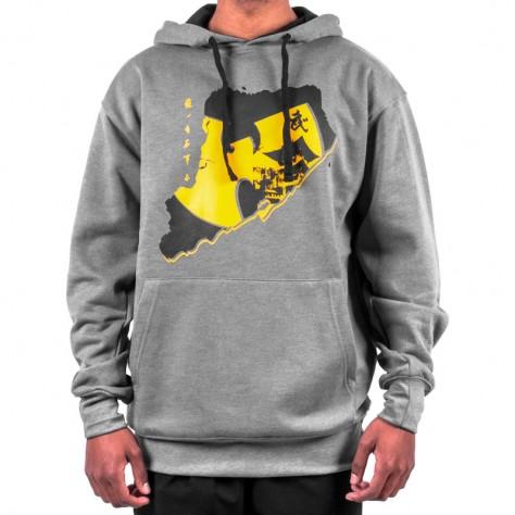 Wu Wear Shaolin Hoodie - gray