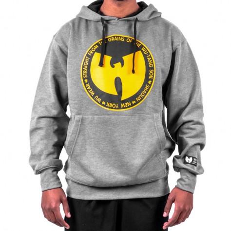 Wu Wear Grains Hoodie - gray