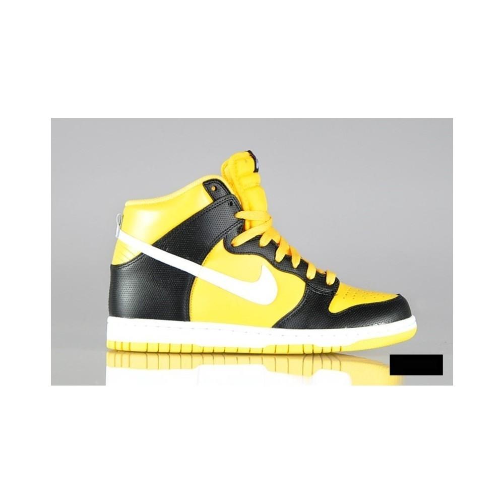 huge discount facab 6b08e Sneakers Nike Dunk Hi yellow / black
