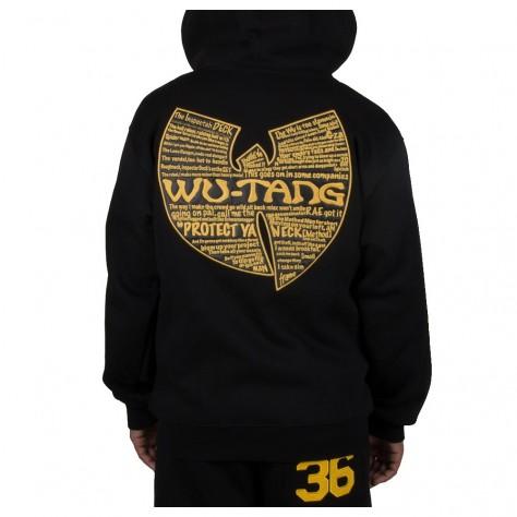 Wu Wear Protect Ya Neck Hooded Zipper black