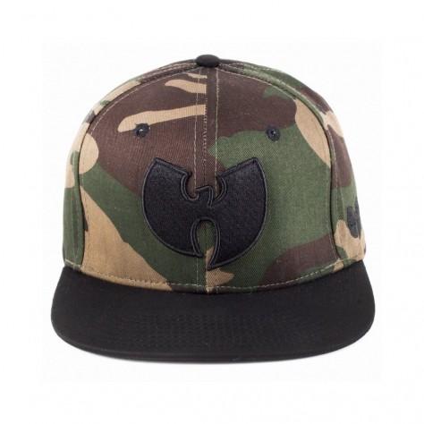 Wu Wear Snapback Cap - camo