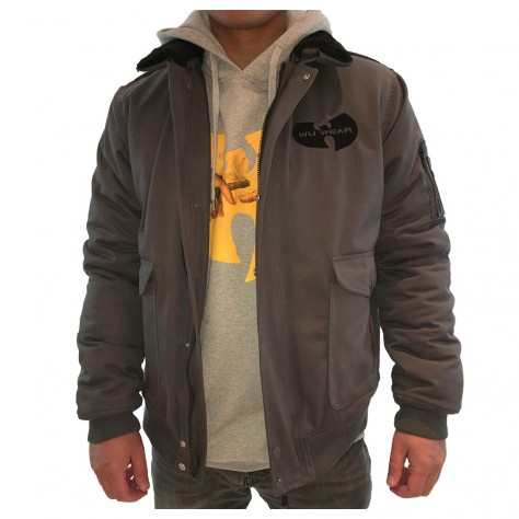 Wu Wear Winter Jacket - grey