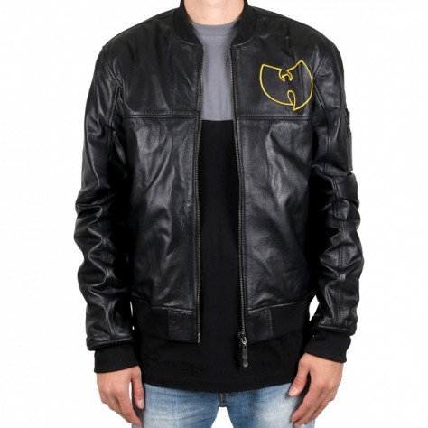 Wu Wear WU Leather Jacket -...