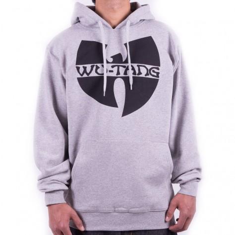 Wu Wear Wu Tang Clan Logo Hoodie - grey