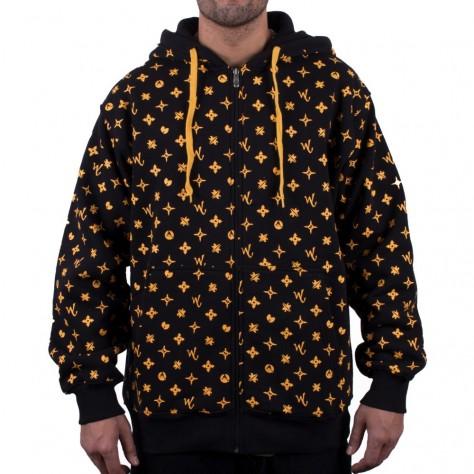 Wu Wear Wuitton Zipper - black
