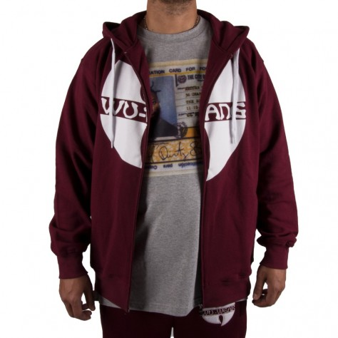 Wu Wear Zipper Hooded -...