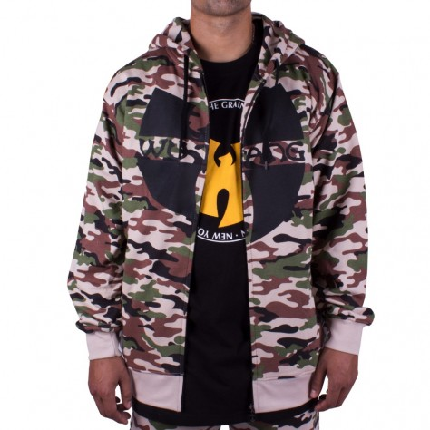 Wu Wear Zipper Hooded - camo