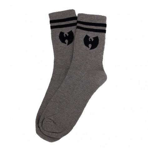 Ponožky Wu Wear Logo - šedivé